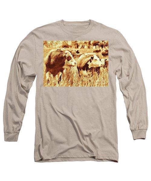 Simmental Bull 3 Long Sleeve T-Shirt