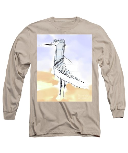 Simon Long Sleeve T-Shirt by Carolyn Weltman