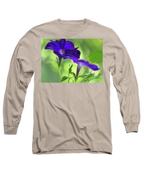 Simple And Undemanding Long Sleeve T-Shirt by Laura Ragland
