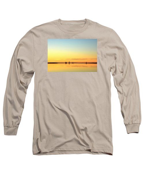 Simple Sunrise Long Sleeve T-Shirt