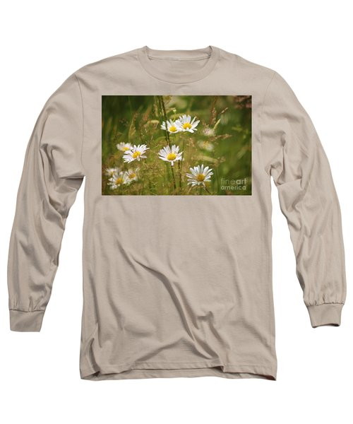Simplicity Long Sleeve T-Shirt by Sheila Ping