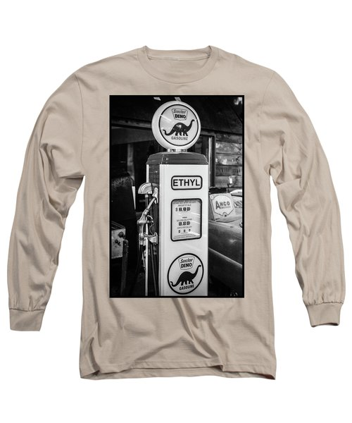 Sinclair Dino Gas Pump Long Sleeve T-Shirt
