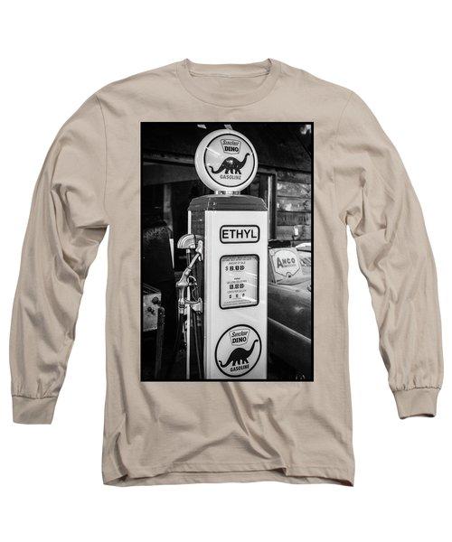Sinclair Dino Gas Pump Long Sleeve T-Shirt