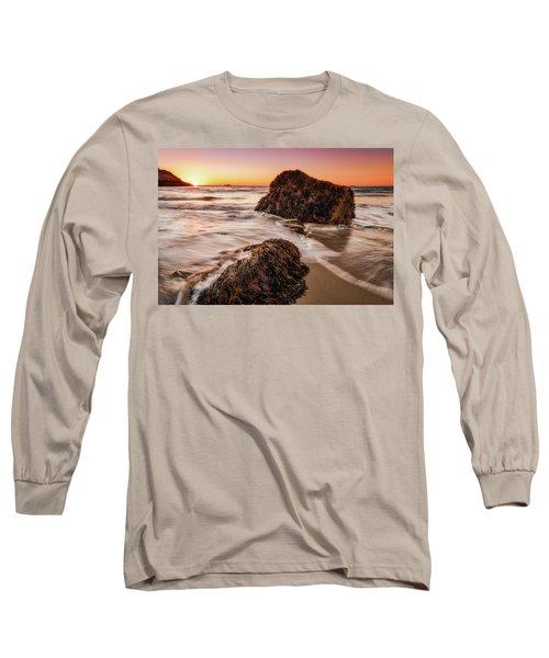Singing Water, Singing Beach Long Sleeve T-Shirt