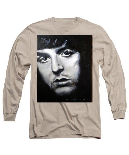 Sir Paul Mccartney Long Sleeve T-Shirt