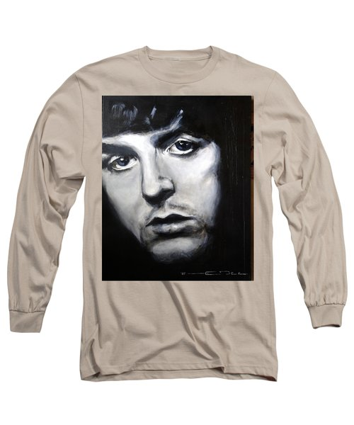 Sir Paul Mccartney Long Sleeve T-Shirt