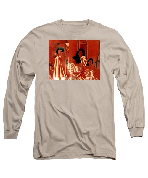 Sisters We Are Family Long Sleeve T-Shirt