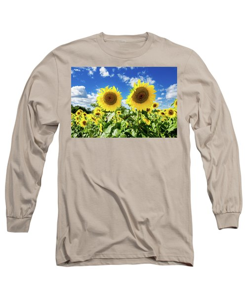 Long Sleeve T-Shirt featuring the photograph Sisters by Greg Fortier