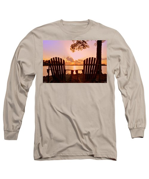 Sit Down And Relax Long Sleeve T-Shirt