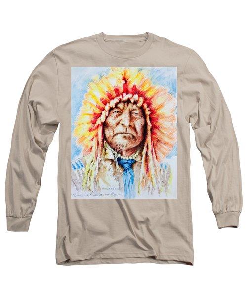 Sitting Bear Long Sleeve T-Shirt