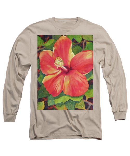 Sizzle Long Sleeve T-Shirt by Judy Mercer