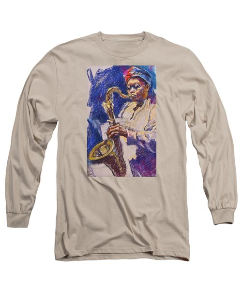 Sizzlin' Sax Long Sleeve T-Shirt