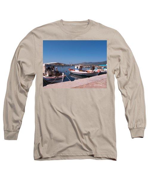 Skala Kalloni Lesvos Long Sleeve T-Shirt