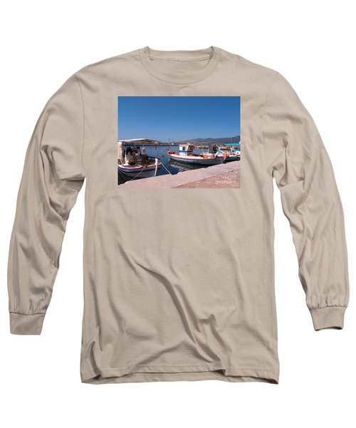 Skala Kalloni Lesvos Long Sleeve T-Shirt