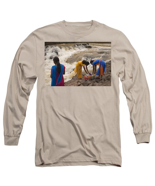 Skc 2621 A Collective Task Long Sleeve T-Shirt by Sunil Kapadia