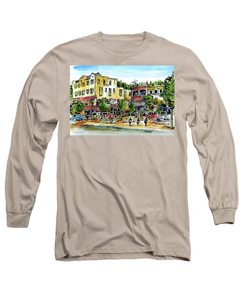 Sketch Crawl In Truckee Long Sleeve T-Shirt