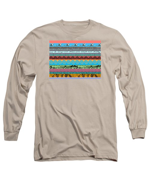 Sketchy Stripes Long Sleeve T-Shirt