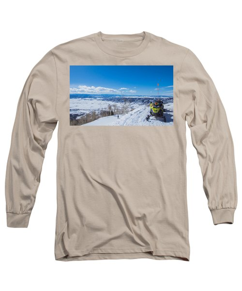 Ski Patrol Long Sleeve T-Shirt by Sean Allen