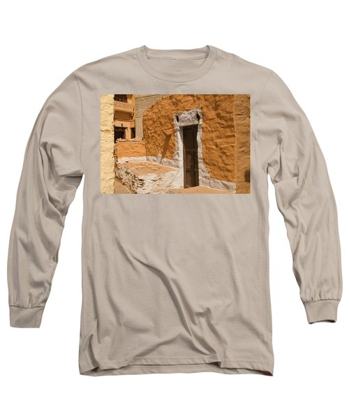 Skn 1264 Thatched House Long Sleeve T-Shirt