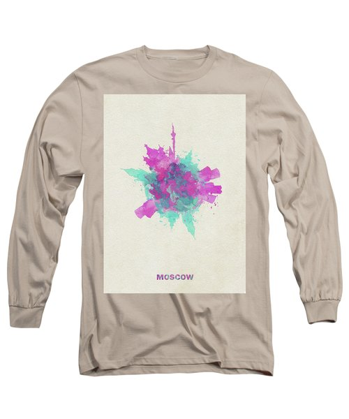 Skyround Art Of Moscow, Russia Long Sleeve T-Shirt