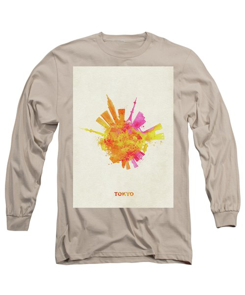 Skyround Art Of Tokyo, Japan  Long Sleeve T-Shirt