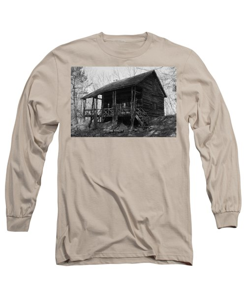 Long Sleeve T-Shirt featuring the photograph Slabsides In Spring by Jeff Severson