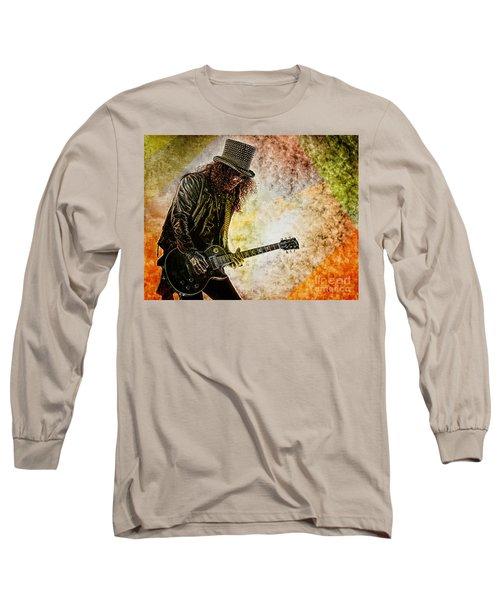 Slash - Guitarist Long Sleeve T-Shirt