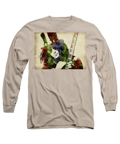 Slash Watercolor Long Sleeve T-Shirt