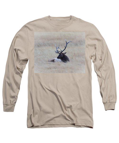 Long Sleeve T-Shirt featuring the photograph Sleeping Giant by Steve McKinzie