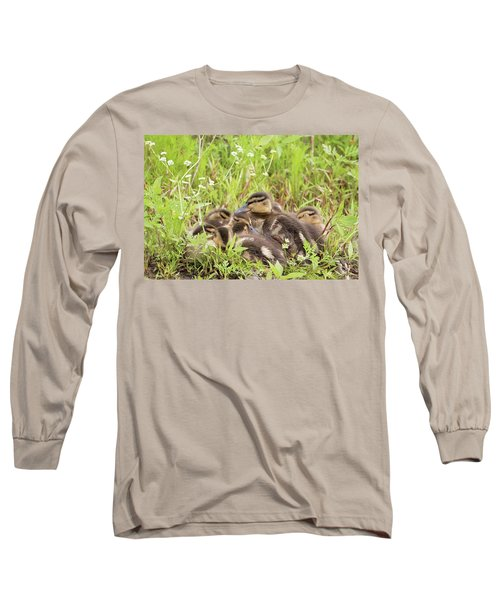 Sleepy Ducklings Long Sleeve T-Shirt