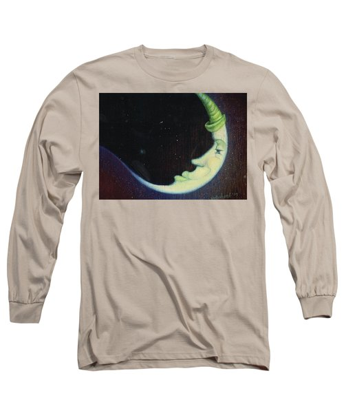 Sleepy Moon's Twin Brother Long Sleeve T-Shirt
