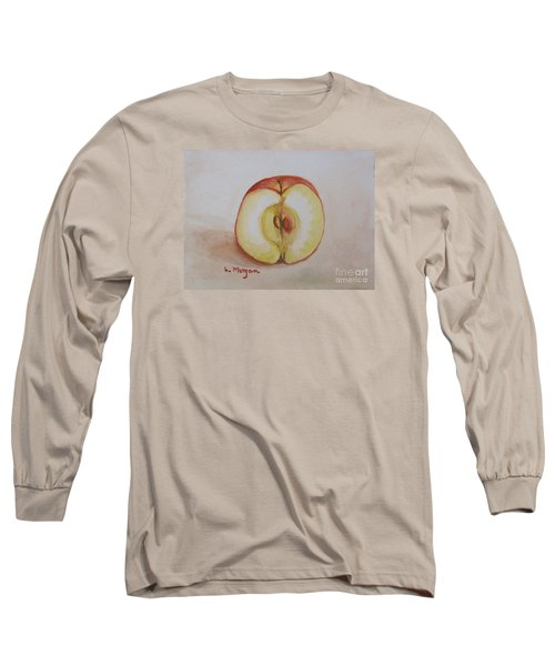 Sliced Apple Long Sleeve T-Shirt