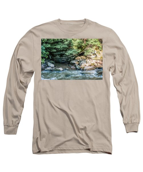 Slippery Rock Gorge - 1895 Long Sleeve T-Shirt