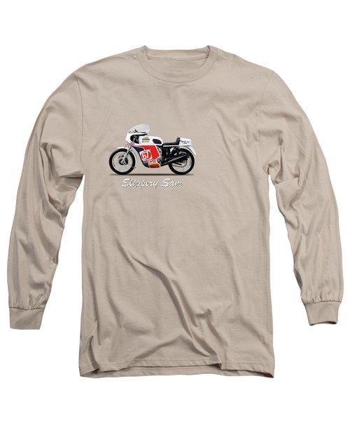 Slippery Sam Production Racer Long Sleeve T-Shirt by Mark Rogan