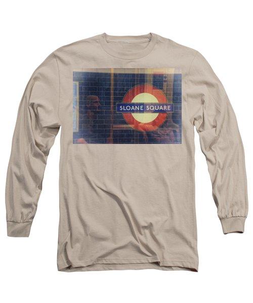 Sloane Square Portrait Long Sleeve T-Shirt