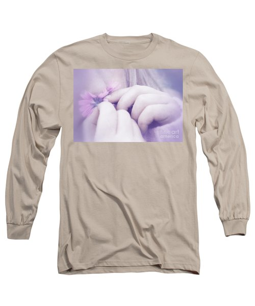 Long Sleeve T-Shirt featuring the digital art Smell Life - V07t3 by Variance Collections