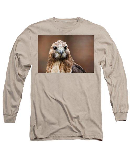 Smiling Bird Of Prey Long Sleeve T-Shirt