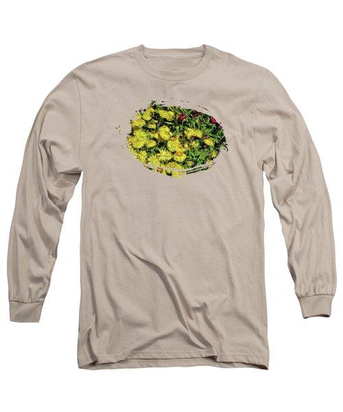 Smiling Daisies Long Sleeve T-Shirt