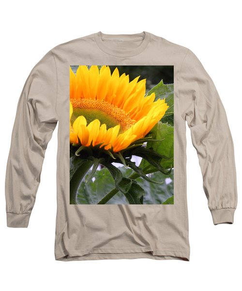 Smiling Flower Long Sleeve T-Shirt