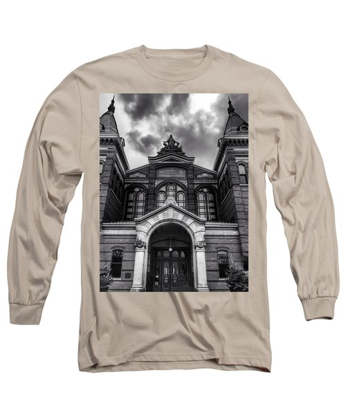 Smithsonian Arts And Industries Building Long Sleeve T-Shirt