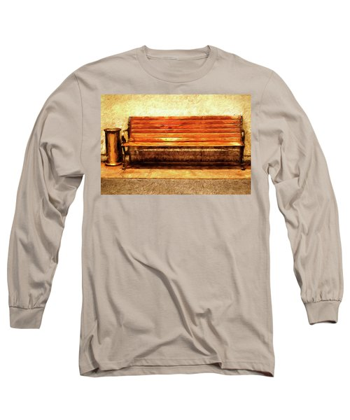 Smoker's Bench Long Sleeve T-Shirt