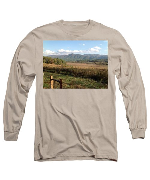 Smokies 1 Long Sleeve T-Shirt by Val Oconnor