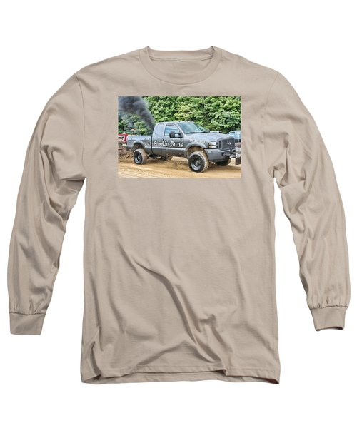 Long Sleeve T-Shirt featuring the photograph Smokin' Guns by Denise Romano