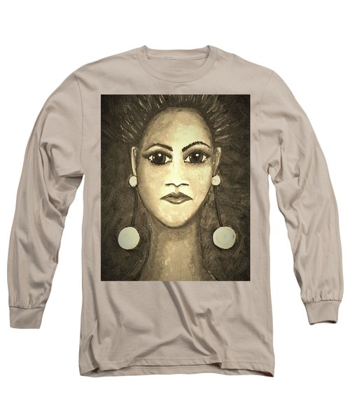 Smoking Woman 1 Long Sleeve T-Shirt