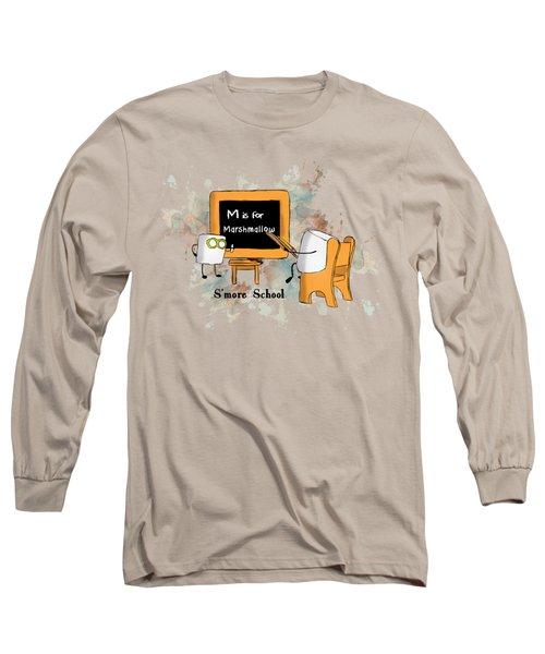 Smore School Illustrated Long Sleeve T-Shirt
