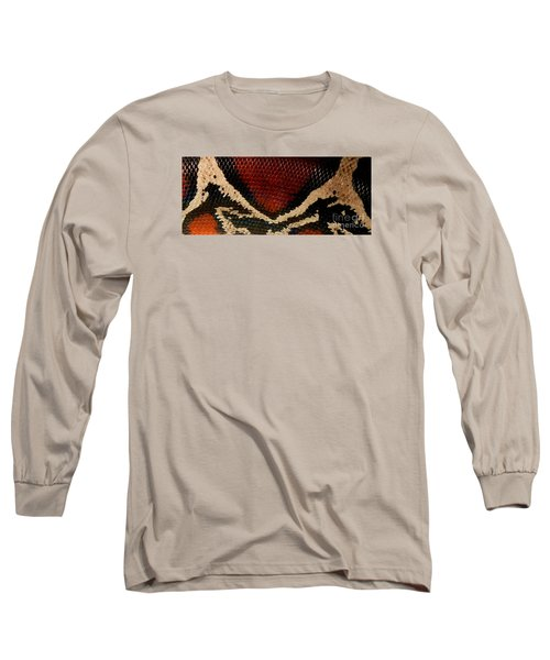 Snake's Scales Long Sleeve T-Shirt by KD Johnson