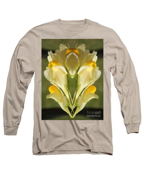 Snappy Bouquet Long Sleeve T-Shirt by Christina Verdgeline
