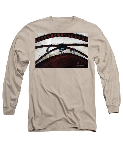 Sneakers Long Sleeve T-Shirt by Ana Mireles