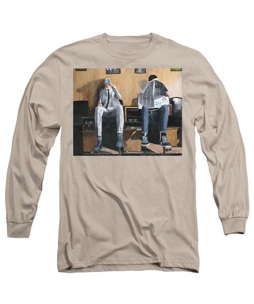 Sneakers Need Polishing Too Long Sleeve T-Shirt by Stuart B Yaeger