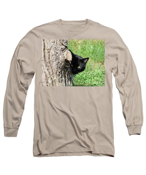 Sneaky Cat Long Sleeve T-Shirt
